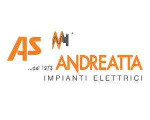 Sito web As Andreatta Impianti elettrici realizzato da 3dprestige web agency treviso - montebelluna