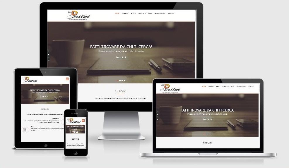 3DPrestige Web Agency, sviluppo Siti Web, consulenza SEO, servizi Web Marketing. A Treviso e Montebelluna