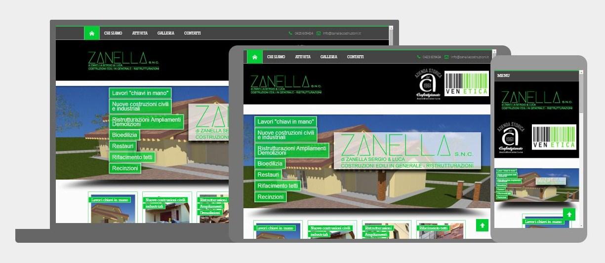 Costruzioni edili zanella 3dprestige portfolio for B b mobili montebelluna