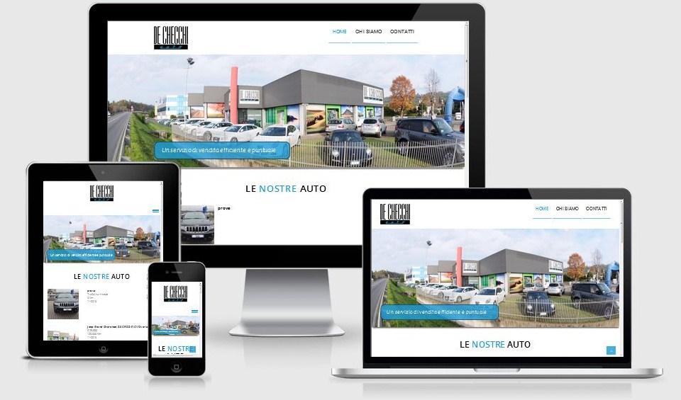De Checchi Auto Montebelluna (TV) - Nuovo sito internet realizzato da 3DPrestige