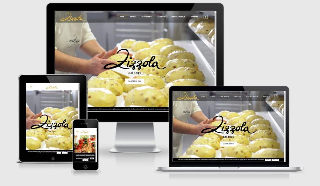 Nuovo sito internet Pasticceria Zizzola Resana progettato e realizzato da 3DPrestige Web Agency