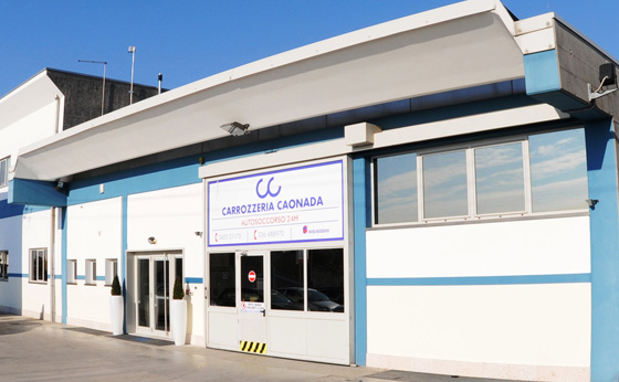 Nuovo sito web per Carrozzeria Caonada a Montebelluna (TV)