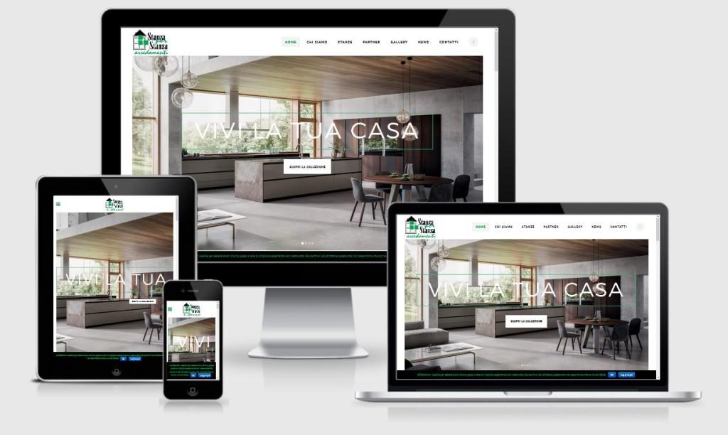 Restyling sito internet Stanza per Stanza Montebelluna
