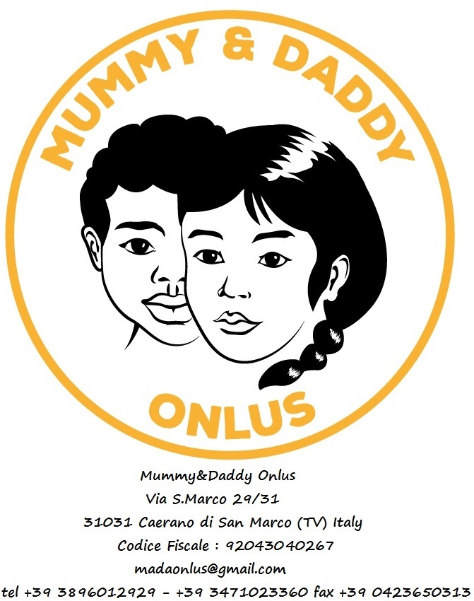 Logo completo Mummy&Daddy Onlus