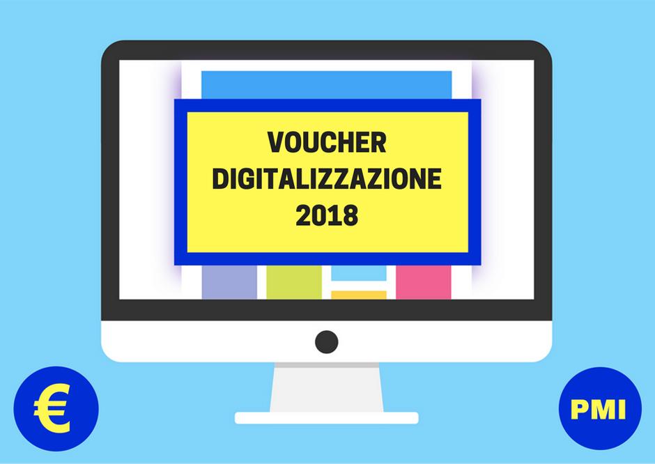 Voucher per la digitalizzazione PMI 2018 - Ministero dello sviluppo economico