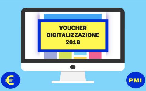 Voucher Digitalizzazione PMI 2018. Richiedilo entro il 9 febbraio!