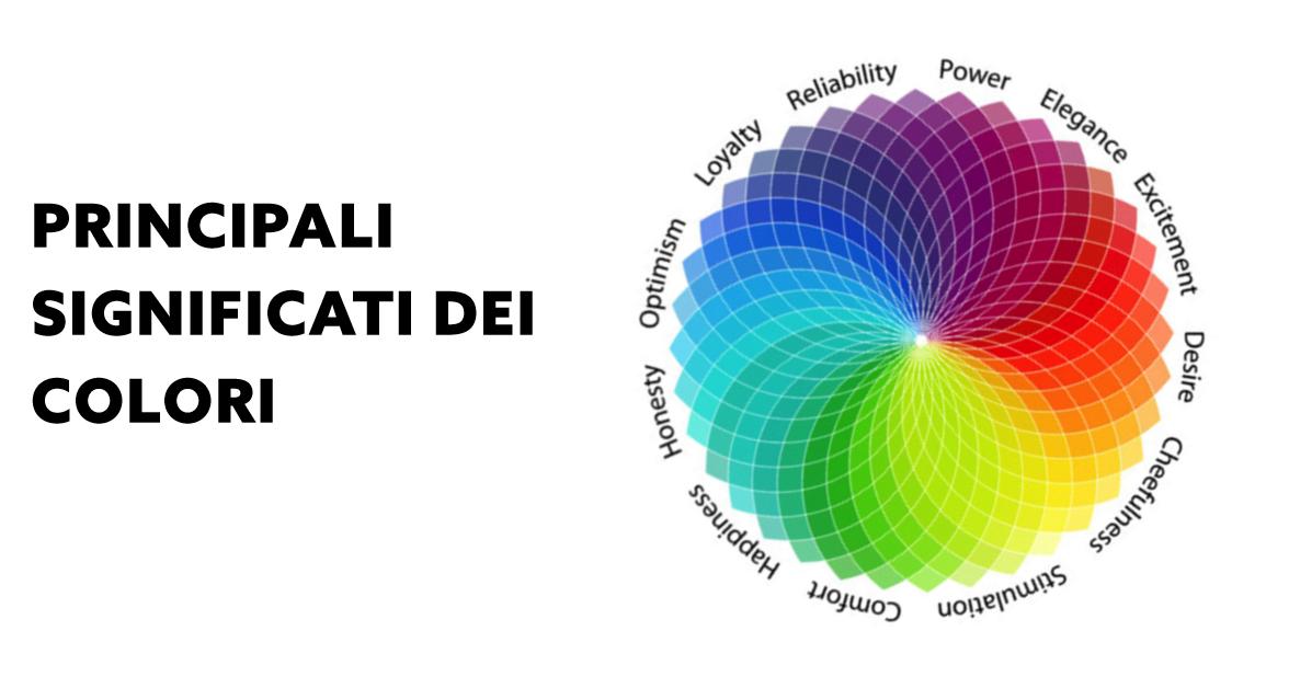 principali significati dei colori