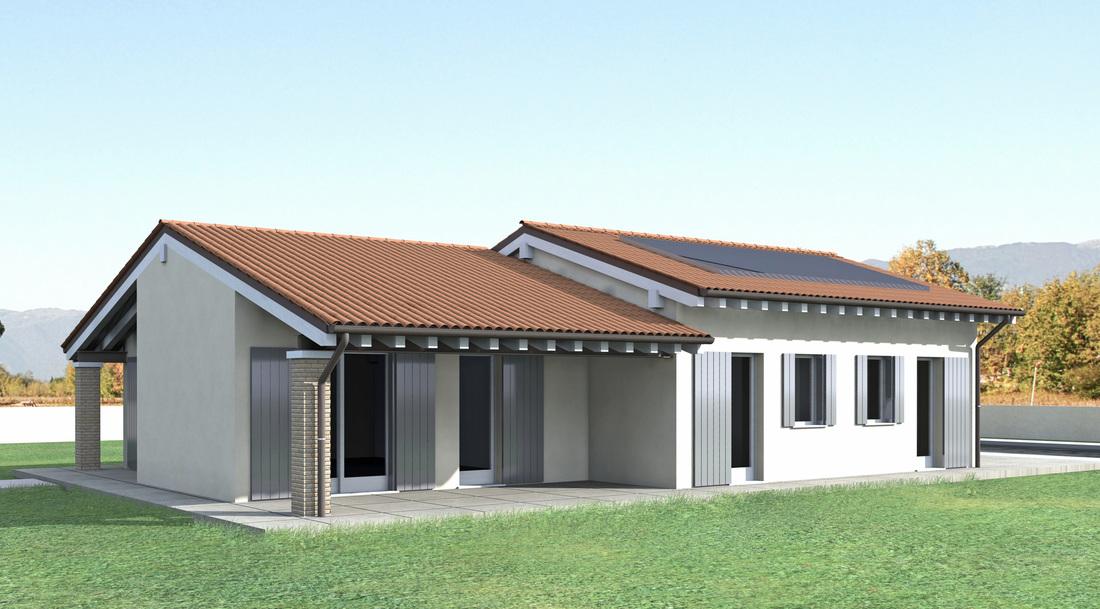 Casa prefabbricata in acciaio e cemento - Steelhome metodo Steelconcrete